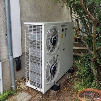 Pompe à chaleur, bloc extérieur